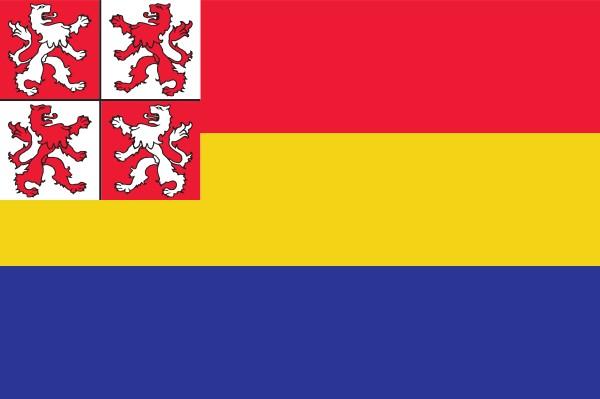 Vlag Zaandijk 30x45cm bootvlag