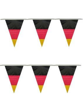 Vlaggenlijn Duitsland 10m, met Duitse vlaggen vlaggenclub