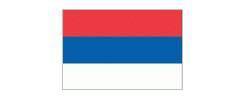vlag Servië, Servische vlag 90x150cm Best Value