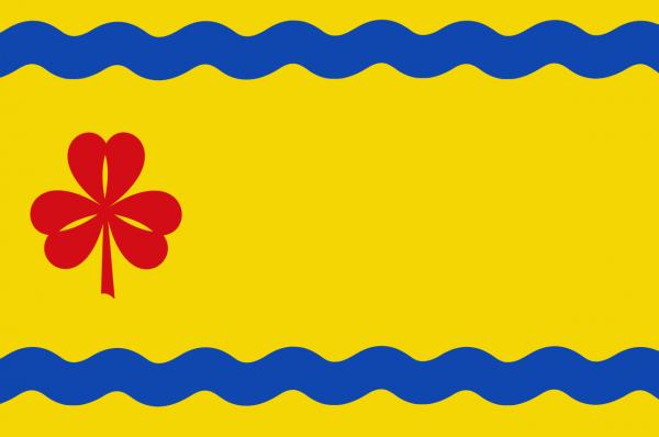 Grote vlag Hardenberg