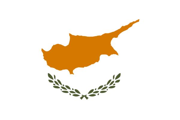 Cypriotische vlag | Vlaggen Cyprus 20x30cm gastenvlag