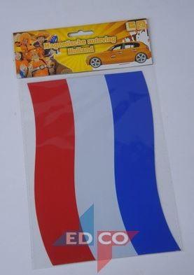 Magneet Nederlandse vlag 15x21cm