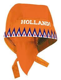 Bandana Holland Puntjes Oranje RWB EK | WK koningsdag