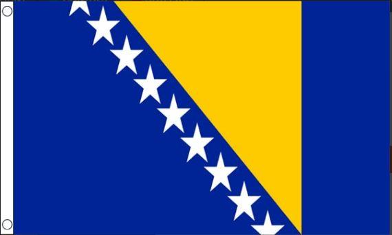 Bosnische vlag Bosnië en Herzegovina 60x90cm Best Value