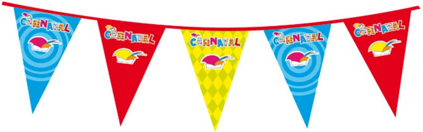 Vlaggenlijn carnaval xl 10m