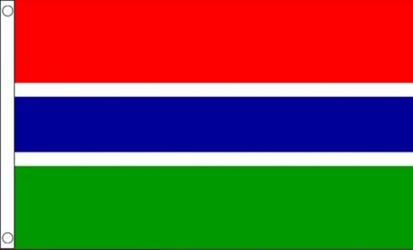 Vlag Gambia | Gambiaanse vlaggen 90x150cm