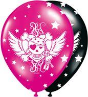 Pirate Girl ballonnen 8 stuks
