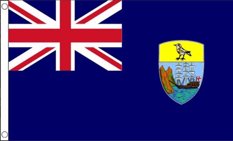 Vlag St Helena Sint Helena vlaggen 90x150cm Best Value
