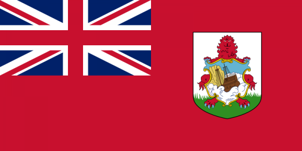 Vlag Bermuda 100x150cm Glanspoly