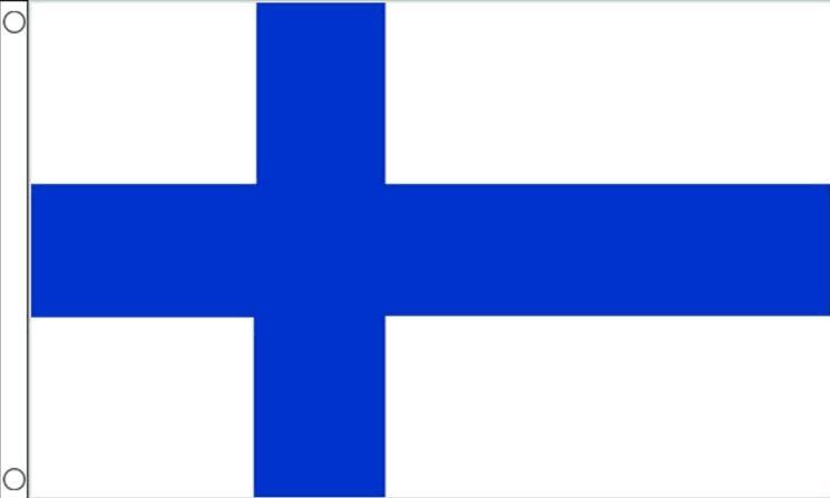 Finland vlag, vlaggen Finse 90x150cm Best Value