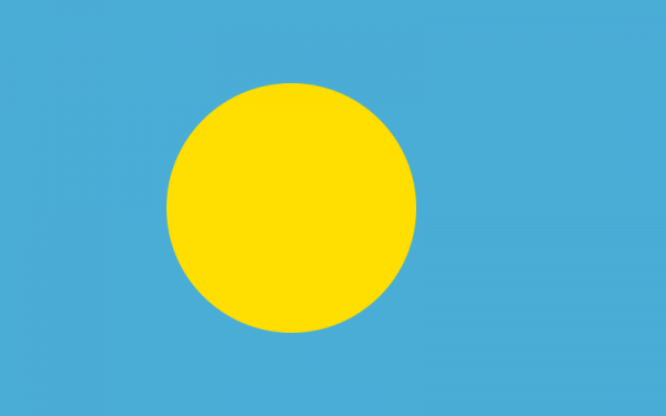 vlag Palau | Palause vlaggen 100x150cm