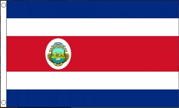 vlag Costa Rica | Costa Ricaanse vlaggen 90x150cm Best Value