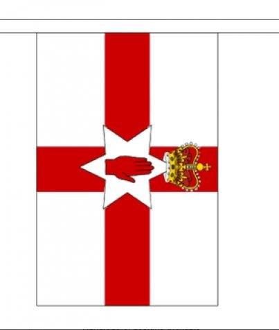 Vlaggenlijn Noord Ierland Noord Ierse vlaggenlijn van 3m