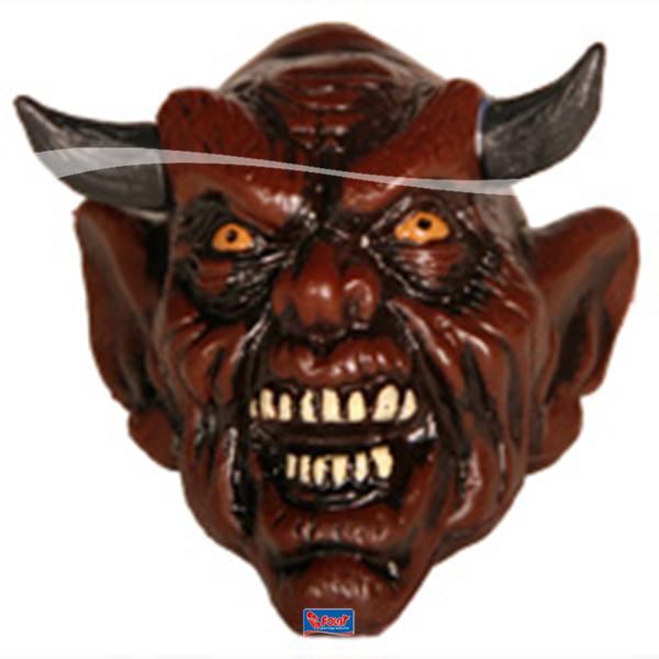 Gehoornd Monster Horror Halloween decoratie Duivels kop Duivel