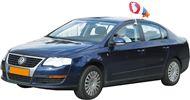 Windsok Nederland Rood Wit Blauw Oranje 40cm Windsock autovlag