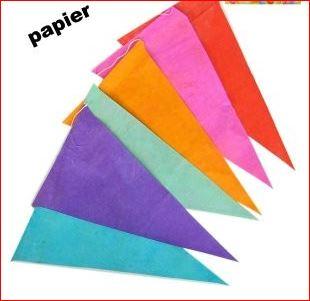 Vlaggenlijn Brandwerend 20m extra lang vrolijke kleuren