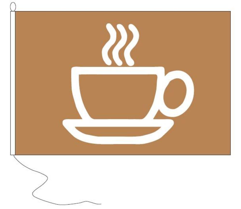 Koffie borrelvlag 30x45cm