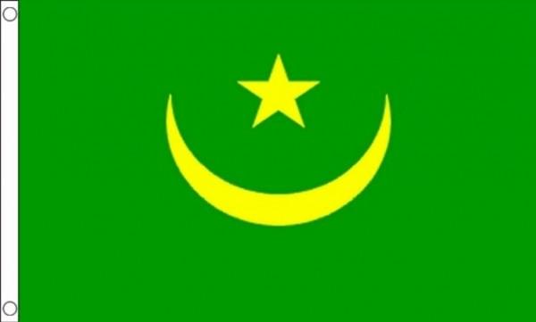 Vlag Mauritanië   Mauritaanse vlaggen 90x150cm Best Value
