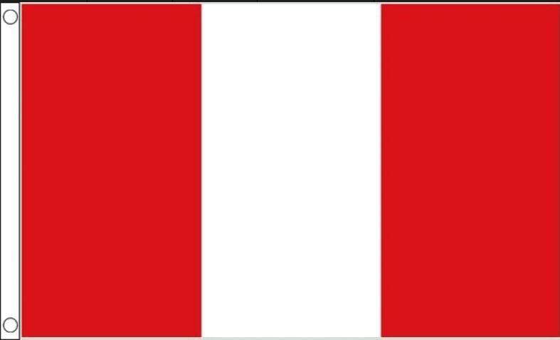 Vlag Peru | Peruaanse vlaggen 90x150cm Best Value