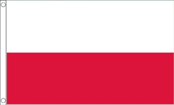 Vlag Polen Poolse vlaggen 90x150cm Best Value