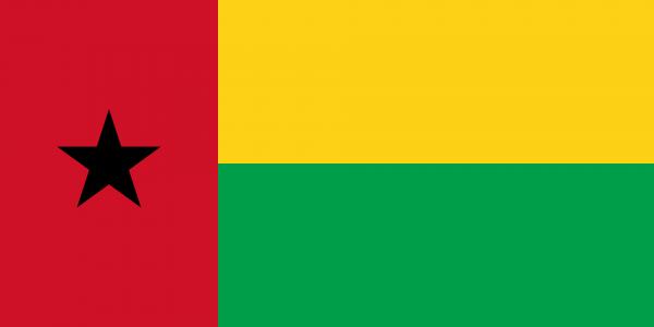 Vlag Guinee-Bissau 100x150cm Glanspoly