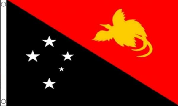 Vlag Papoea-Nieuw-Guinea 60x90cm