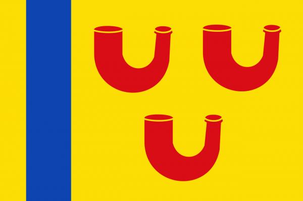 Grote vlag Leudal