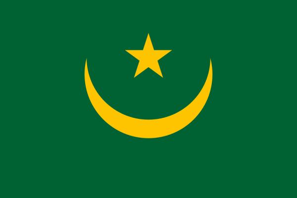 vlag Mauritanië, Mauritaanse vlaggen 150x225cm