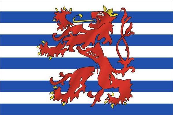 Vlag Luxemburg koopvaardij 100x150cm