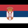 Servische vlag 100x150cm gevelvlag Servie