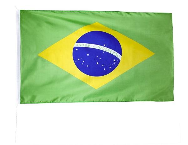 Vlag Brazilië 90x150cm
