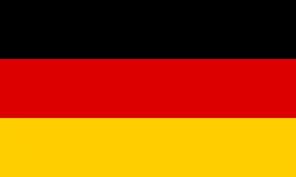 Tafelvlag Duitsland met standaard