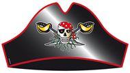 Piratenhoed Red Pirate kinderfeestje Vlaggenclub