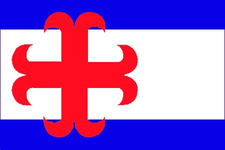 Vlag gemeente Zutphen 20x30cm | Zutphense vlaggen vlaggetje