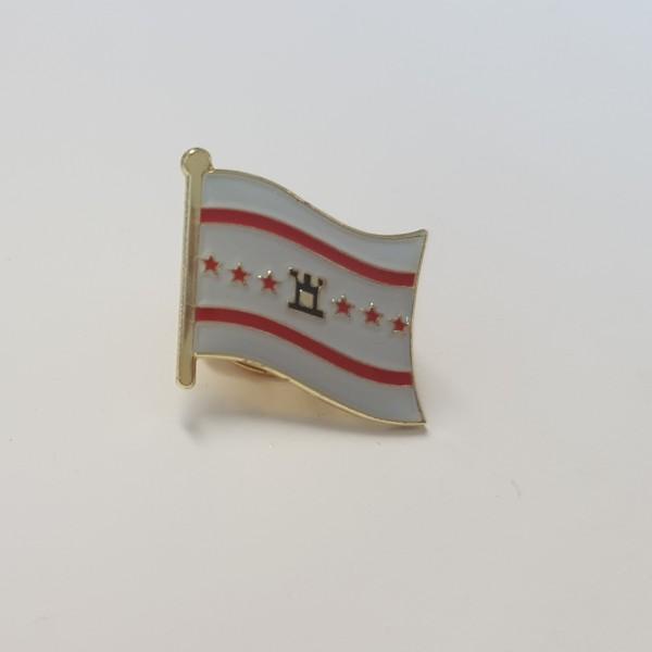 Broche / Speldje vlag Drenthe