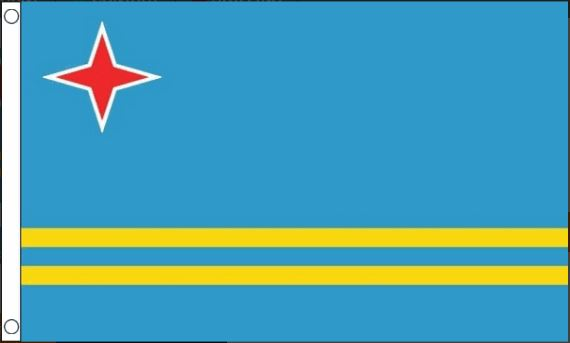 vlag Aruba | Arubaanse vlaggen 90x150cm Best Value