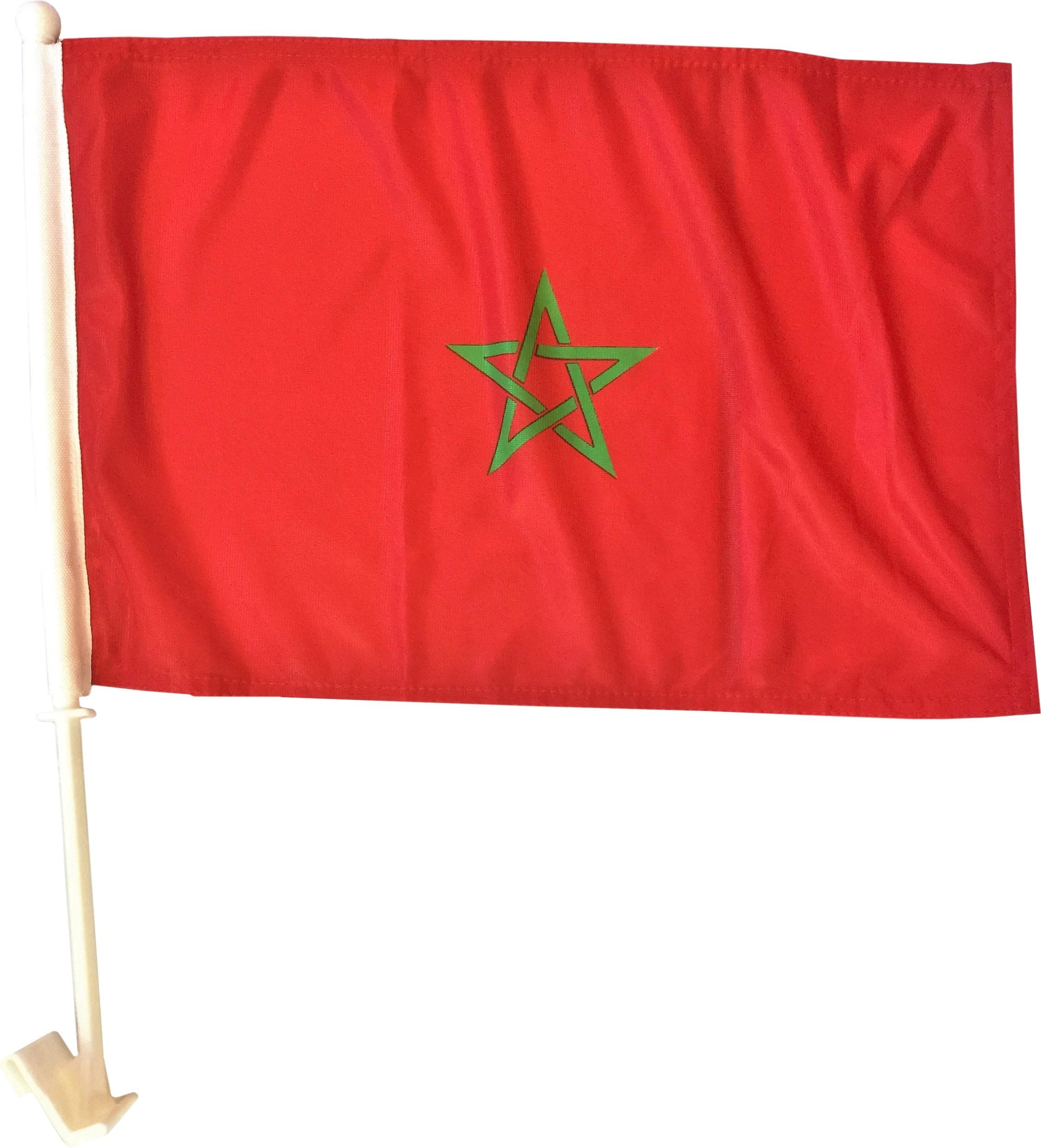 Marokkaanse Autovlag Autovlaggen Marokko budget