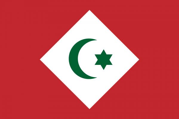 Vlag Rif-Republiek 90x150cm