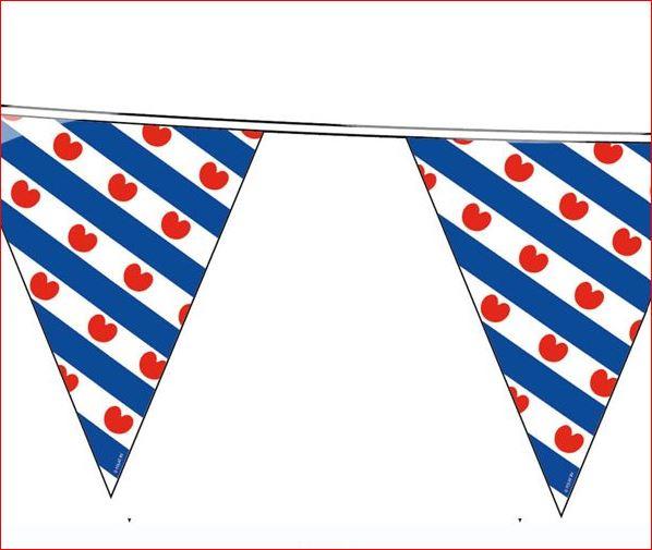 Vlaggenlijn Friesland Friese vlaggenlijnen Frysk