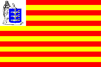 Vlag gemeente Enkhuizen   Enkhuizer vlaggen 30x45cm
