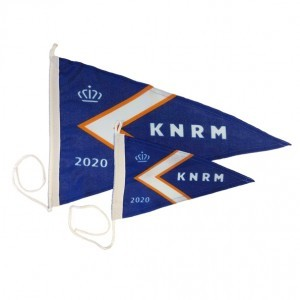 KNRM wimpel 35x50cm editie 2019 jaarwimpel