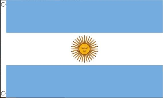 vlag Argentinië | Argentijnse vlaggen 60x90cm Best Value