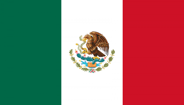 vlag Mexico | Mexicaanse vlaggen 50x75cm