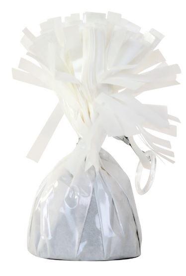 Ballonnen gewichtje Wit 140g, doorsnede 6cm