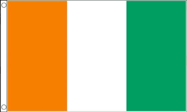vlag Ivoorkust, Ivoriaanse vlaggen 150240cm Best Value
