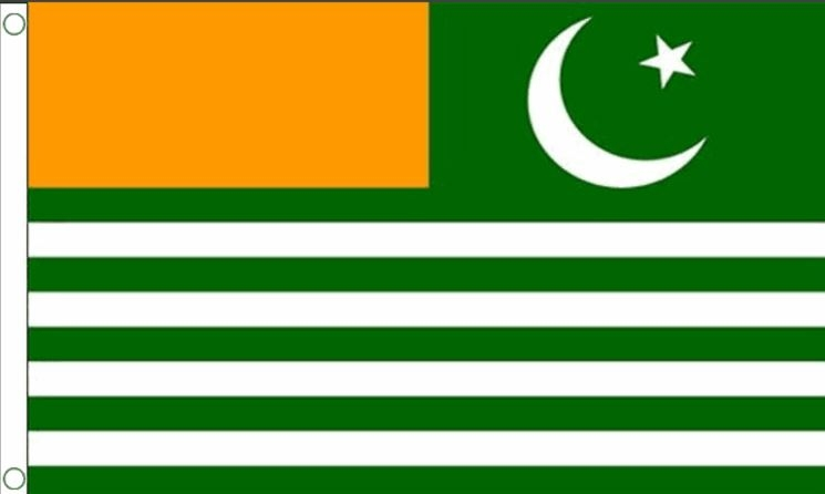 Vlag Kashmir Kashmirische vlaggen 90x150cm Best Value