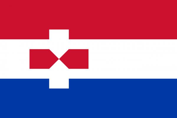 Grote vlag Zaanstad
