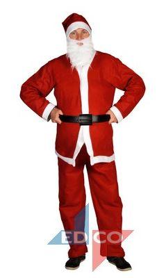 Kerstmanpak Santa run, 5-delig