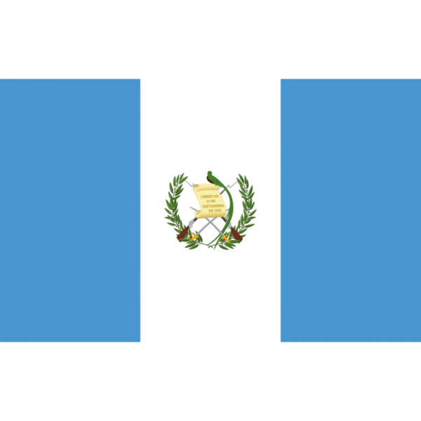 Tafelvlaggen Guatemala 10x15cm