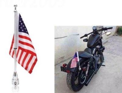 Motorvlagstandaard voor op uw motor
